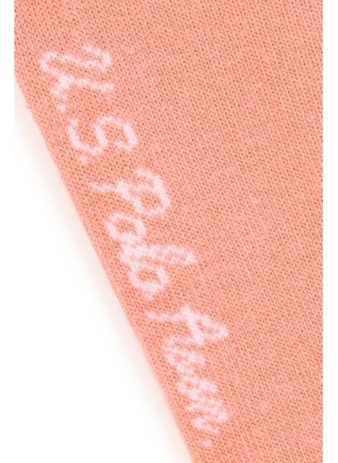 U.S. Polo Assn. 2'li Çorap Pembe